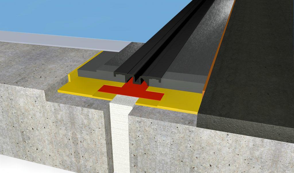 FloorBridge® Fugenprofil CPS 20/50 DUO Asphalt
