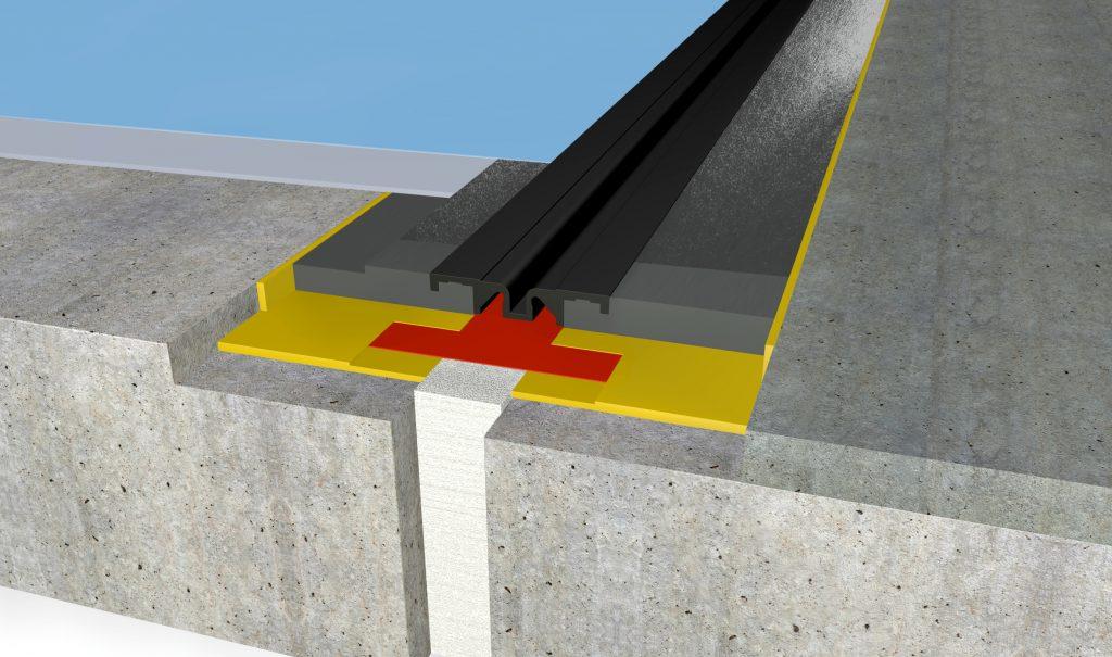 FloorBridge® Fugenprofil CPS 20/50 DUO Beton
