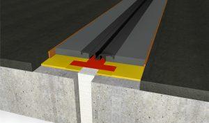 FloorBridge® Fugenprofil CPS 20/50 Mono mit Asphalt