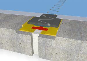 FloorrBridge® Fugenprofil CP 20/80 beschichtet