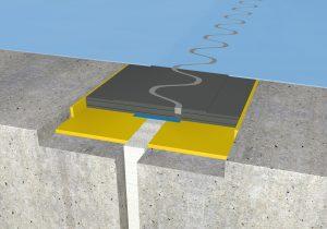 FloorBridge® Fugenprofil RC 20/30 beschichtet