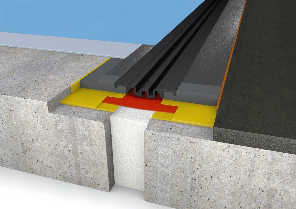 FloorBridge® Fugenprofil CPS 20/80 DUO Asphalt