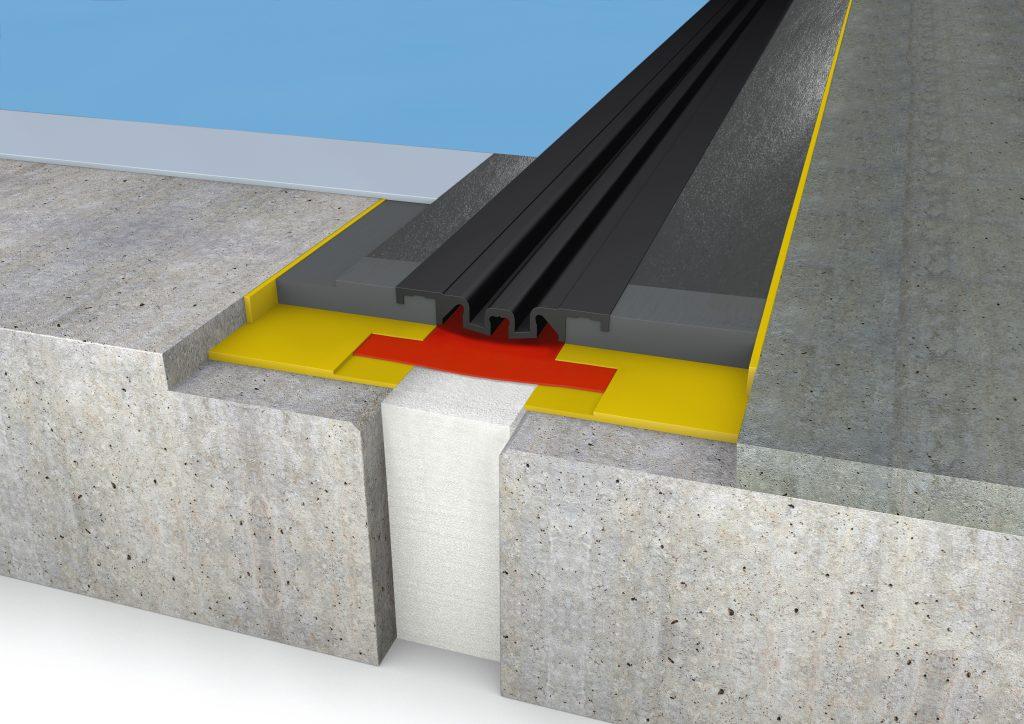 FloorBridge® Fugenprofil CPS 20/80 DUO Beton