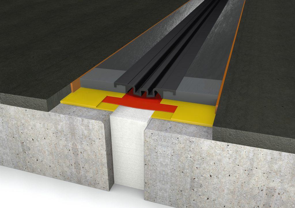 FloorBridge® Fugenprofil CPS 20/80 MONO Asphalt