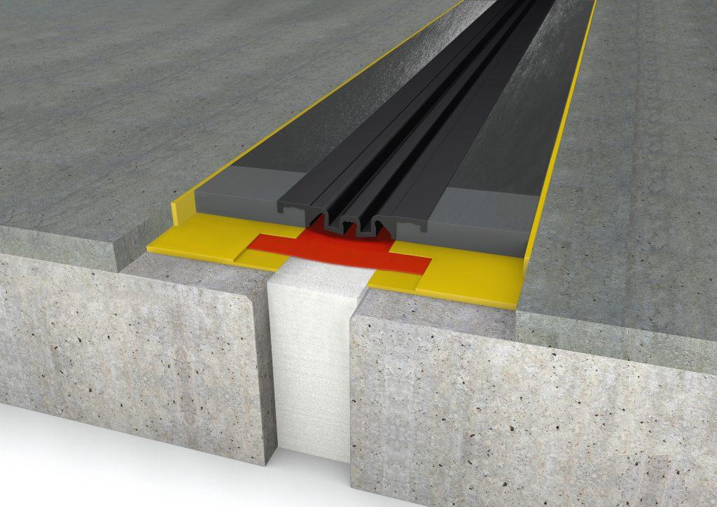 FloorBridge® Fugenprofil CPS 20/80 MONO Beton