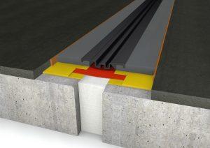 FloorBridge® Fugenprofil CPS 20/80 Mono mit Asphalt