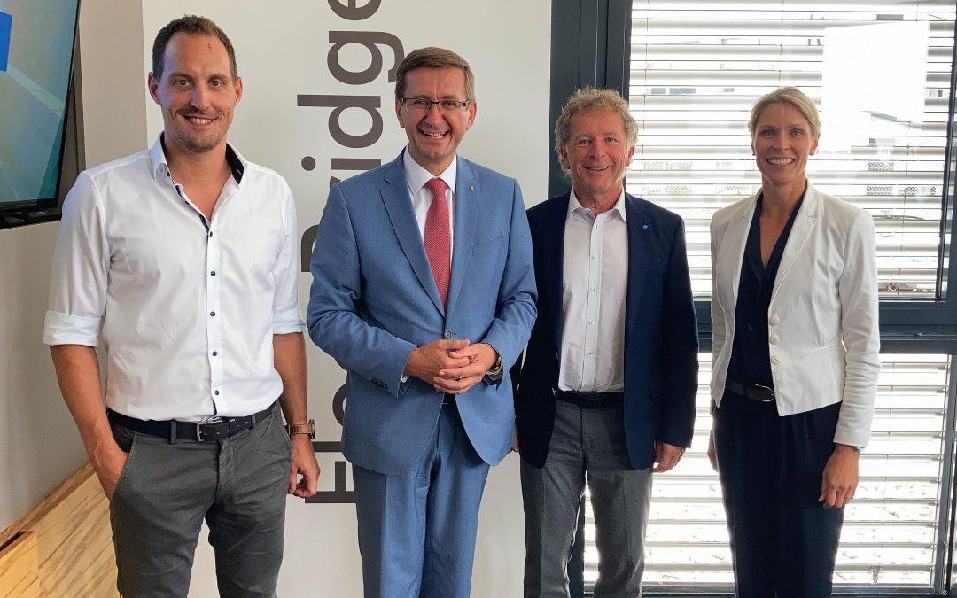 Wirtschaftstalk mit Wirtschaftslandesrat Markus Achleitner